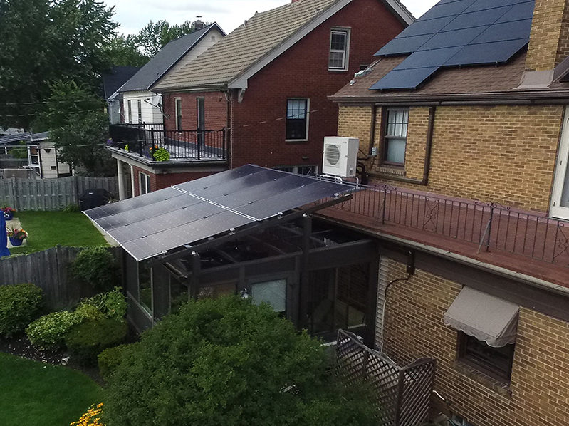 Residential Solar Install, North Drive