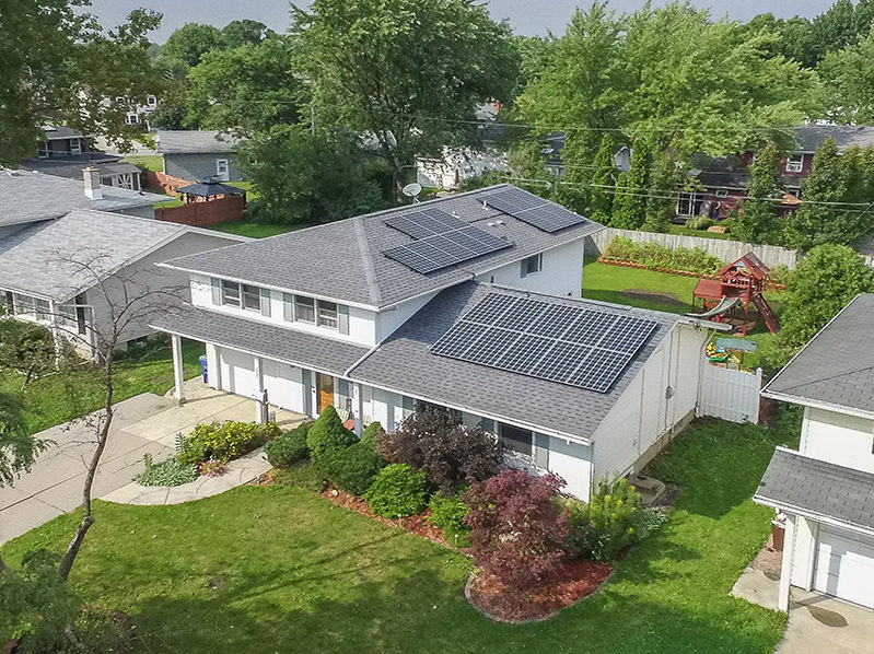 Residential Solar Install, Dalewood Drive