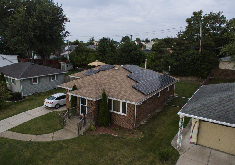 Solar panels on investment property