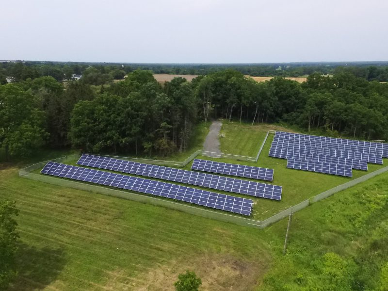 Municipality Install, Village of Oakfield Solar Array
