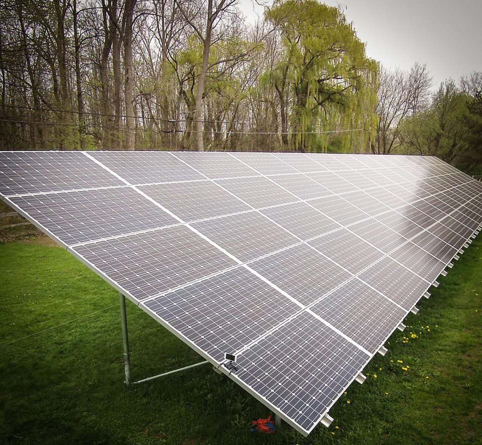Solar Ground Mount in Buffalo, NY