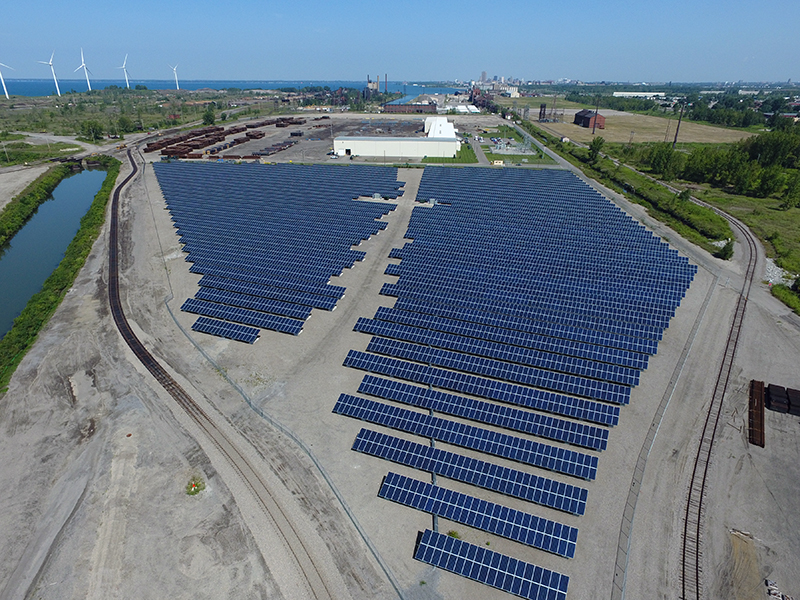 commercial solar installation in buffalo, ny