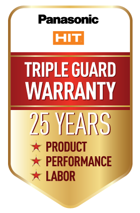 panasonic 25 year warranty
