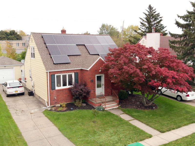 Residential Solar Installation in Western New York