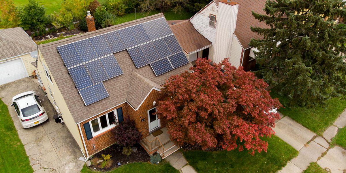panasonic solar panels in WNY