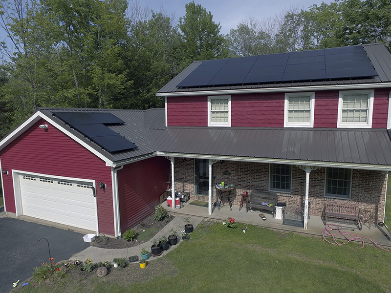 Solar Install in WNY for Jeff Pedro