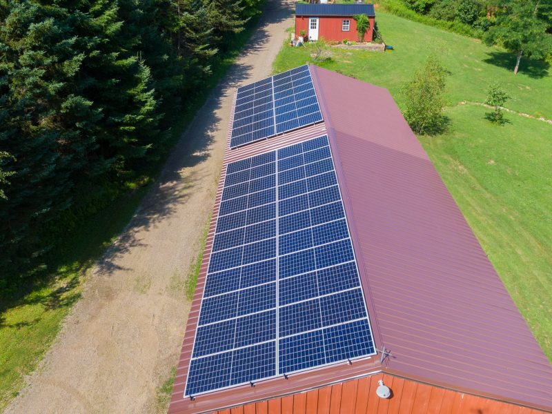 Solar Installation in Boston, NY