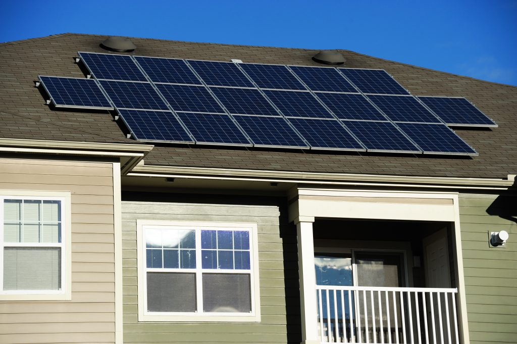 Solar panels on investment properties