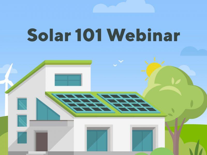 Solar 101 Webinar Graphic